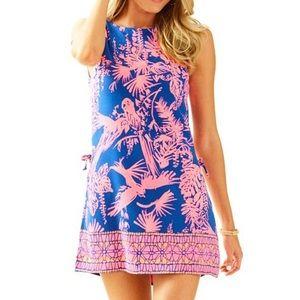 Lilly Pulitzer Donna Romper Night Caw 6 dress